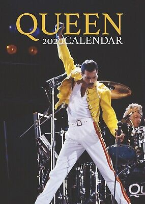 Queen Calendar 2020 Large Uk Wall A3 Poster Size New & Sealed By Oc