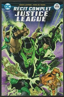JUSTICE LEAGUE RECIT COMPLET N°11 Green Lantern DC Comics URBAN janvier 2019
