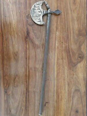 Iron Antique Vintage Old Persian Tabar Axe mughal Middle Eastern Islamic Weapon