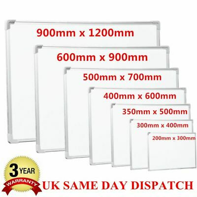 EXTRA LARGE 1200x900/ 900x600 MAGNETIC DRY WIPE WHITE BOARD SMALL OFFICE NOTICE