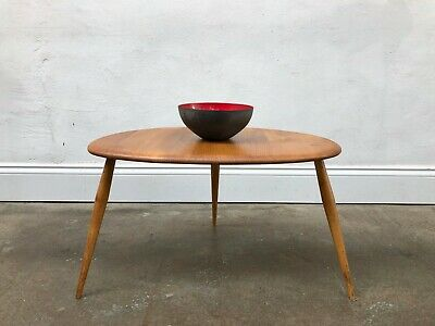 Vintage Ercol Blonde Large Pebble Coffee Table. Nest. Danish Retro DELIVERY