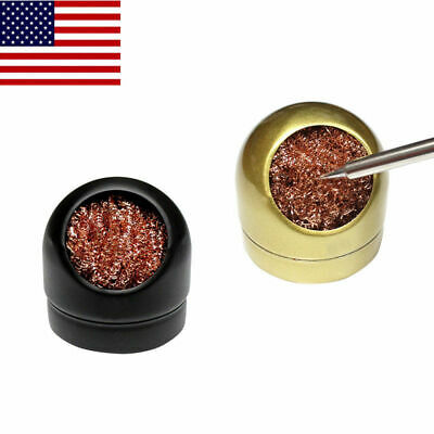 Soldering Head Steel Cleaning Wire Ball Iron Tip Cleaner Heavy Duty Welding USA