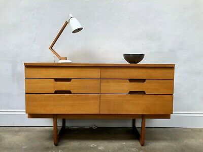 Vintage Uniflex Gunther Hoffstead Teak Sideboard. Danish Retro G Plan  DELIVERY