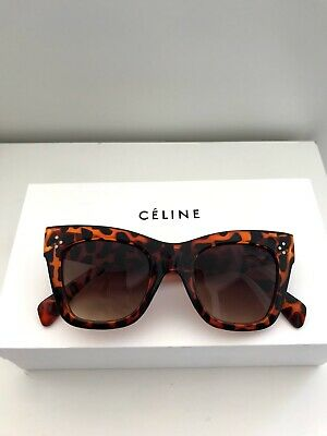 4e63cd2943b CELINE LUCA WOMEN S Sunglasses CL 41411 S 05L Havana Brown Lens ...