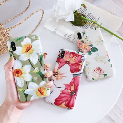 For Apple iPhone X 6 8 7 Plus XS Max IMD Pattern Cover Case Soft Shockproof