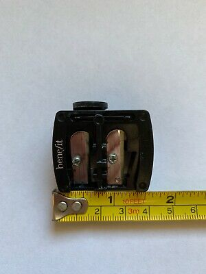 BENEFIT dual Makeup Pencil sharpener Preloved in good condition Black
