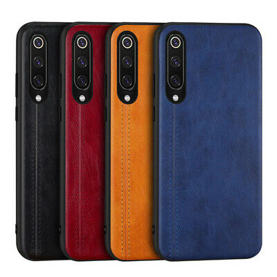 For Xiaomi Mi 9 SE 8 Shockproof Leather+PC+TPU Slim Hard Back Case Cover Shell