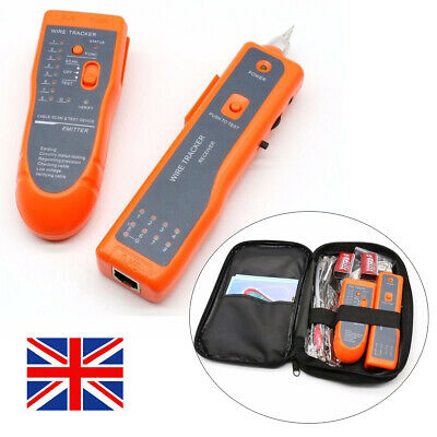Wire Cable Tracer Tone Generator Finder Probe Tracker Network Tester Set Kits Uk