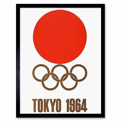 ADVERT EXHIBITION EVENT 1964 TOKYO OLYMPIC GAMES JAPAN ART PRINT POSTER CC1858
