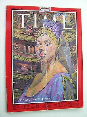 TIME MAGAZINE March 10 1961 Leontyne Price Bobby Darin Jason Robards Jr Hultberg