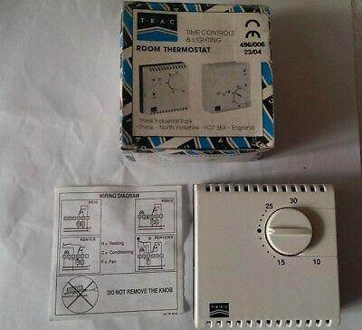 **NEW** TRAC  ROOM THERMOSTAT. Fast Delivery