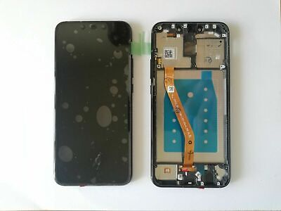 Display Lcd + Touch Screen Con Frame Per Huawei Mate 20 Lite Sne-Lx1 Nero