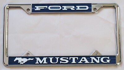 Ford Mustang License Plate frame / surround - number plate holder border classic