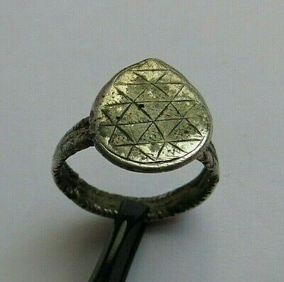 Nice Ancient Roman Silver Ring Detector Find