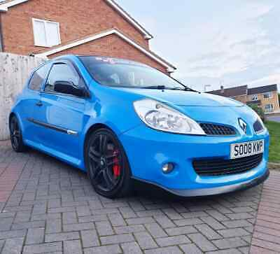 2008 renault clio cup 197 racing blue rs 200 track car hot hatch vxr st vrs mps