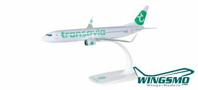 Herpa Wings Transavia Boeing 737-800 (new colors) 611046 Snap-Fit