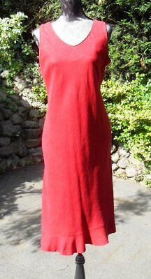 Robe rouge taille 42