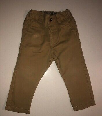 Next Boys Chino Trouser Age 12-18 Month Adjustable Waist Great Condition RRP £12