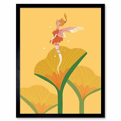 Fairy Holding Starry Lights2//Fairies//Whimsical Poster//Mystical Poster//17x22 in