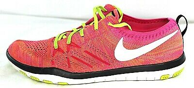 73c2c91e9929 NIKE FREE  FOCUS FLYKNIT (843987-999) Women s Running Coral Pink