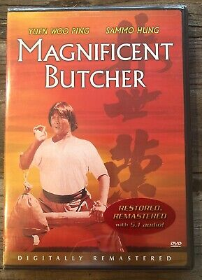 The Magnificent Butcher (DVD, 2003, Hong Kong Legends) - NEW