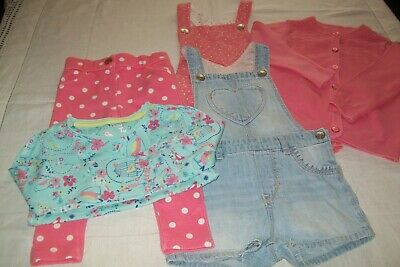 Baby girl clothes mixed bundle H&M/TU 12-18m -combined postage available
