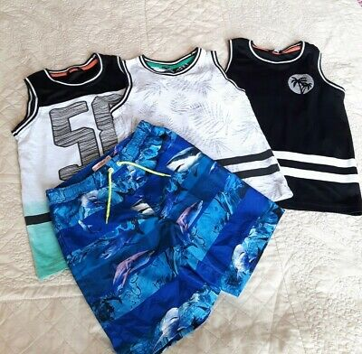 Boys summer clothes bundle Size 6-7years from George ,Debenhams