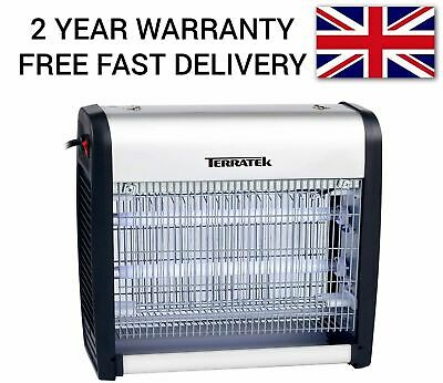 Terratek 23W Electric Fly Zapper Bug Killer Insect Trap Catcher Moths Mosquitoes