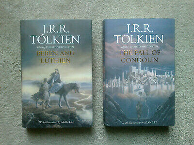 JRR Tolkien Middle Earth Beren and Luthien The Fall of Gondolin 1st Ed. 1st Imp.