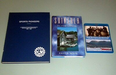 2 Books FINNISH CANADIAN SPORT 1906-86 FINLAND MILTARY SOINTULA British Columbia