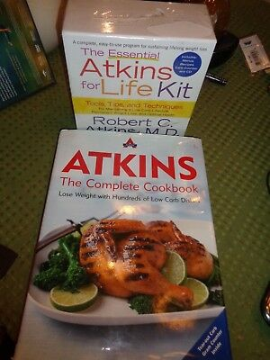 The Essential ATKINS for Life Kit & Atkins The Complete Cookbook Set
