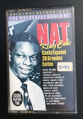"""Nat King Cole """"Canta Espanol"""" (Spanish) Tape Cassette - Never Been Played"""
