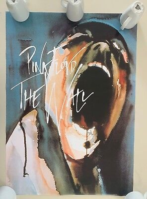 Pink Floyd,The Wall, By Gerald Scarfe ,Authentic Licensed 2004 Poster