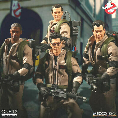GHOSTBUSTERS Mezco Toyz One:12 Collective Deluxe Tin Box Figure Set NEW IN STOCK