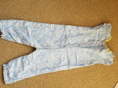 Marks and spencer lined playsuit 12-18 months.