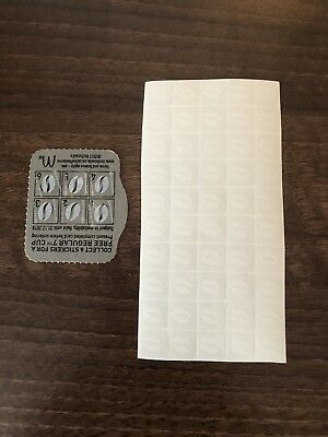 Mcdonalds coffee tokens (30 Cups) 34 A Cup !!