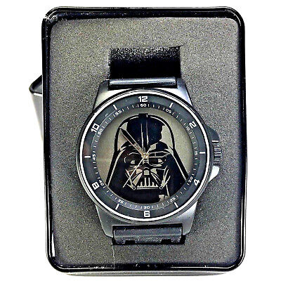 Darth Vader Star Wars Watch by Accutime for DISNEY New in Collector's Box