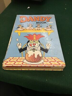dandy annual 1969 & 1970 Used But In Fair Condition