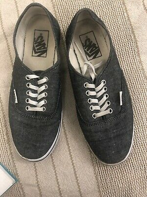 Vans Authentic Classic Sneakers Canvas Mens/ Women Off The Wall Lace up Sz 5.5/7