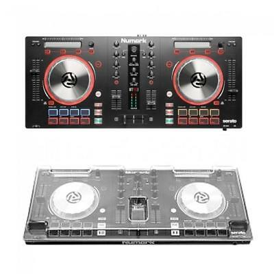 Numark Party Mix Starter DJ Controller with Sound Card Light Show and Virtual