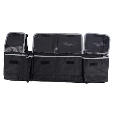 Black High Capacity Multi-use Car Seat Organizers Bag Interior Accessories FF