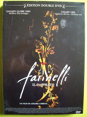 DVD NEUF sous blister ... FARINELLI +  TOSCA  . 2 DVD.
