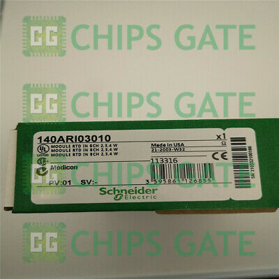1PCS New Schneider MODICON 140ARI03010 RTD IN 8CH Module TSX Quantum Fast Ship