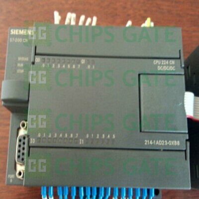 1PCS USED Siemens 6ES7 214-1AD23-0XB8 CPU224 Tested in Good condition