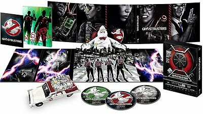 NEW Ghostbusters Blu-ray premium proton pack package Limited Edition from Japan