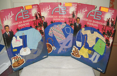 """#9810 NRFC Vintage Totsy 3 Dick Clark's American Bandstand 11 1/2"""" Doll Fashions"""
