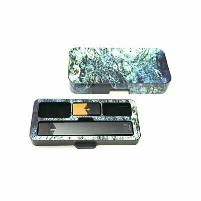 Travel case for Juul with Burl Wood 1 Design