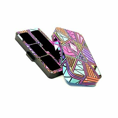 Travel case for Juul with S877 Abstract Design