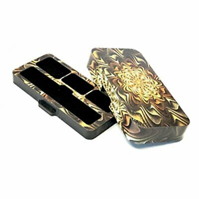 Travel case for Juul with Abstract Design