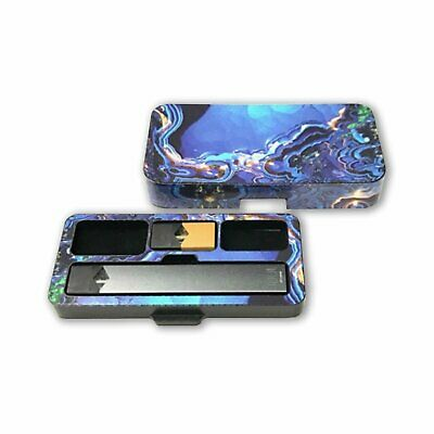 Travel case for Juul with Geode 6 Design